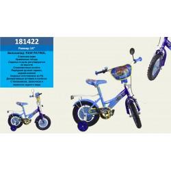 Велосипед 2-х колес 14'' 181422 со звонком,зеркалом,руч.тормоз