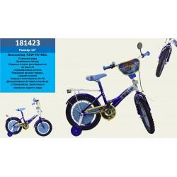 Велосипед 2-х колес 14'' 181423 со звонком,зеркалом,руч.тормоз