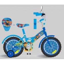 Велосипед 2-х колес 14'' PP1405 со звонком,зеркалом,руч.тормоз
