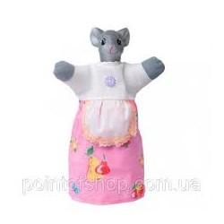"""Лялька-рукавиця """"МЫШКА"""" (пластизоль, тканина)"""