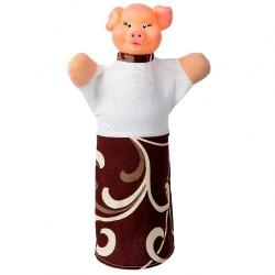 """Лялька-рукавиця """"ПОРОСЯ"""" (пластизоль, тканина)"""