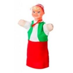"""Лялька-рукавиця """"БУРАТІНО"""" (пластизоль, тканина)"""