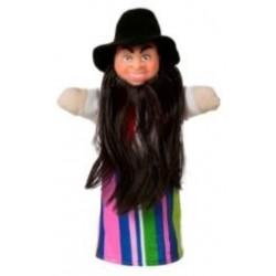 "Лялька-рукавиця ""КАРАБАС БАРАБАС"" (пластизоль, тканина)"