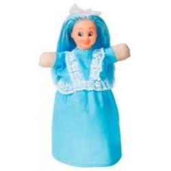 "Лялька-рукавиця ""МАЛЬВИНА"" (пластизоль, тканина)"