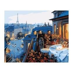 Вид на Париж 40х50см