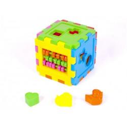 Логический куб-сортер, со счетами