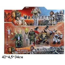 """Герои """"Warcraft"""" 62543 """"Warcraft"""" 4шт.лист 42*4,5*34 ш.к"""