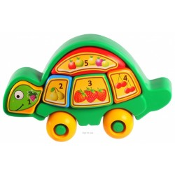 """Игрушка розвивающая """"Черепашка"""" (пазли)(жолтая, зеленая, микс, фиолетовая"""