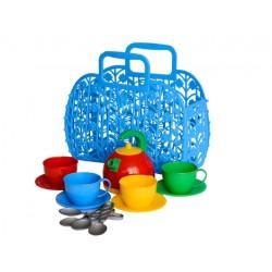 Игрушка Сумочка з набором посуды ТехноК