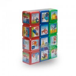 Кубики  Абетка 12 шт.