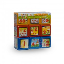 Кубики Математика 9 шт.
