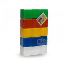 Кубики цветные 16 шт.