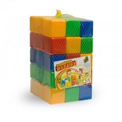 Кубики цветные 45 шт.
