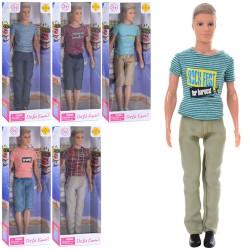 Кукла DEFA 8372 Кен, 31см, 6видов, в кор-ке, 12,5-32,5-5,5см