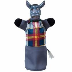 """Кукла-рукавица """"ОСЕЛ"""" (ПВХ, тканина)"""