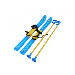 Лыжи с палочками для детей