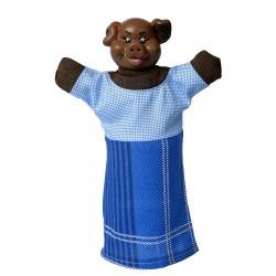 "Лялька-рукавиця ""КАБАН"" (пластизоль, тканина)"
