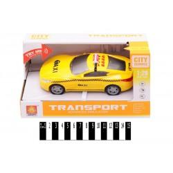 Машина Такси инерц з муз. та світ. ефект. (коробка) WY630C р.22*9,5*12 см