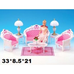 Мебель Gloria 2604 гостинная кор.33*8.5*21