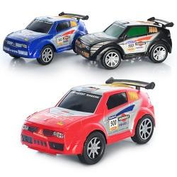 Машина 1088 инерц. 3 цвета в слюде 32-17-14.5см