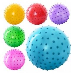 Мяч массажный MS 0021 ( 3 дюйма, 5 цветов, 28 г