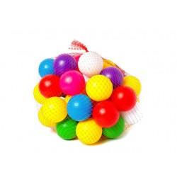 """Набір дитячий """"Кульки"""" арт 0265, диам 8 см, сетка 60шт"""