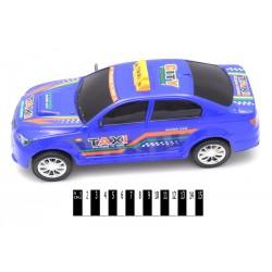 Машина инерционная такси в слюде SH700-12  р.33*14.5*11 см