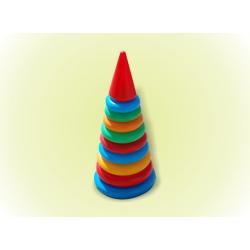 Пирамидка №3(46см) 12 колец