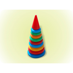 Пирамидка №4(61см) 15 колец