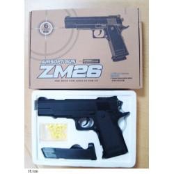 Пистолет CYMA ZM26 с пульками,метал.кор.ш.к.H120309509
