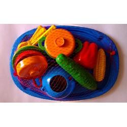 Поднос с набором посуды
