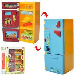Холодильник XS-14006-1 22,5см, продукты, в кор-ке, 21-27-10,5см