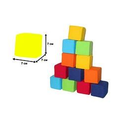 Кубик 12. Цветные,
