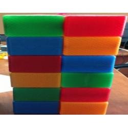 Кубик цветной в сетке 12 - эл