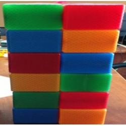 Кубик цветной в сетке 16 - эл