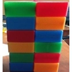 Кубик цветной в сетке 20 - эл