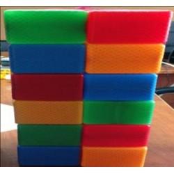 Кубик цветной в сетке 24 - эл