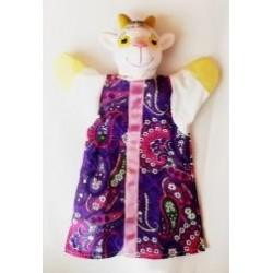 """Кукла-рукавица""""Коза-дереза"""" (ПВХ, тканина)"""