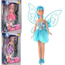 Кукла DEFA 8317  фея, с крыльями, 21см, 3 вида, в кор-ке, 14,5-24-5см