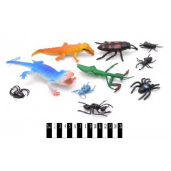 Комахи і рептилії (кульок 10 шт.) F835/2 р.29*19,5 см