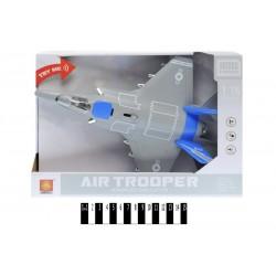Літак-винищувач інерц. з муз. та світ.ефект (коробка) WY770B р.31,9*22,5*9,6см.