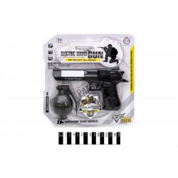 Набір (пістолет муз.+ граната, планшет) HY073 р.25,5*25,5 см