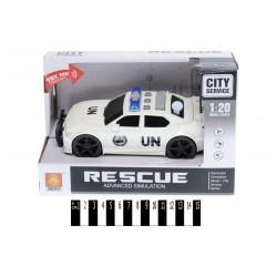 """Машина """"ООН"""" з муз, та світ. ефект.(коробка) WY500C р.23,5*11*15,5см"""