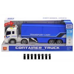 Вантажівка інерційна (муз зі світл., коробка) WY576B р.42*12*19см.