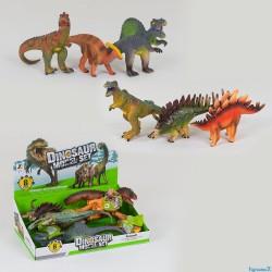 Набор динозавров JZD-78 ИЗДАЕТ ЗВУКИ, МЯГКИЙ,
