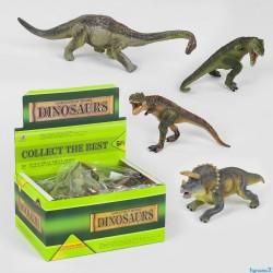 Набор динозавров Q 9899-571 мягкий, резиновый,