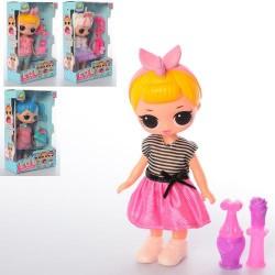 Кукла 089A , 21см, аксессуары, микс видов, в кор-ке, 14-22,5-6,5см