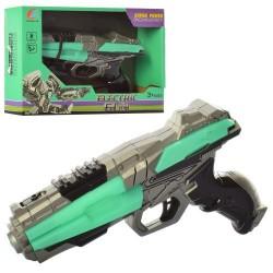 Пистолет 1909C (18см, звук, свет, на бат-ке, в кор-ке, 22,5-16-5,5см