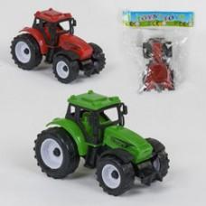 Трактор 669-1  2 цвета, инерция, 1шт в кулкье