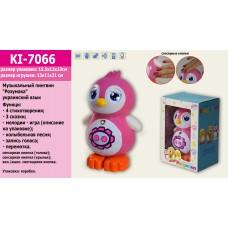 Интерактивное животное KI-7066 НА УКР. Пингвинчик,4стихотворения,3сказки,мелодии,запись голо